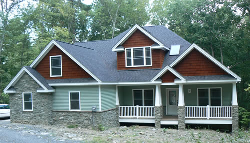 Hogan homes featured home for Craftsman style modular homes